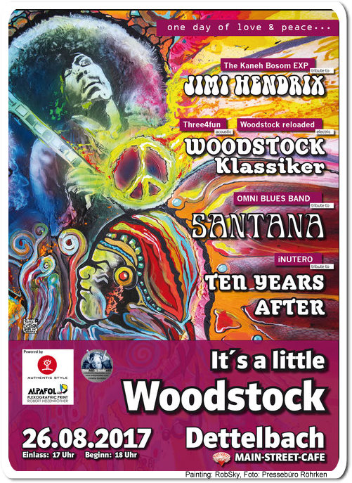 little woodstock - poster by robsky